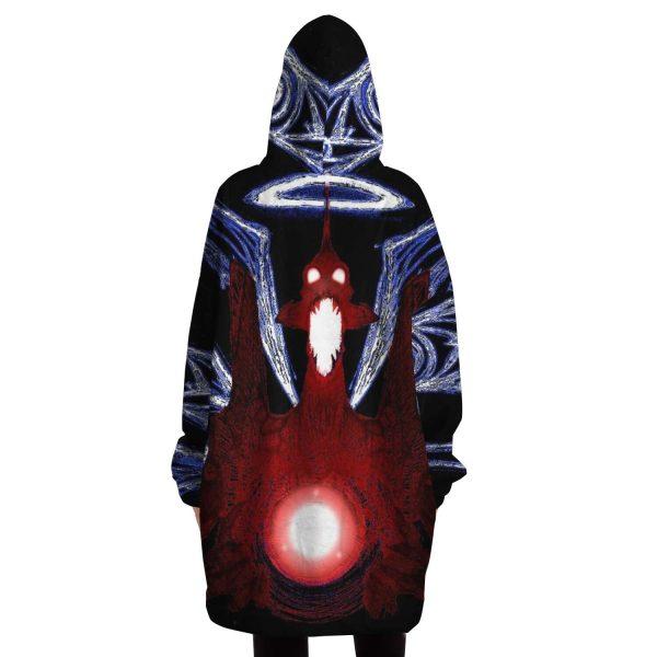 Evangelion Power Angel Night 3D Snug Hoodie Official Evangelion Merch
