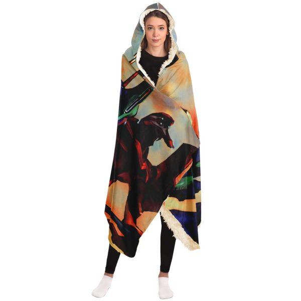 Evangelion Hooded Blanket New E102 Official Evangelion Merch