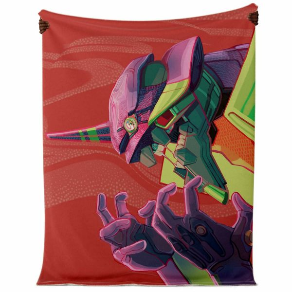 Evangelion Microfleece Blanket #12 Official Evangelion Merch