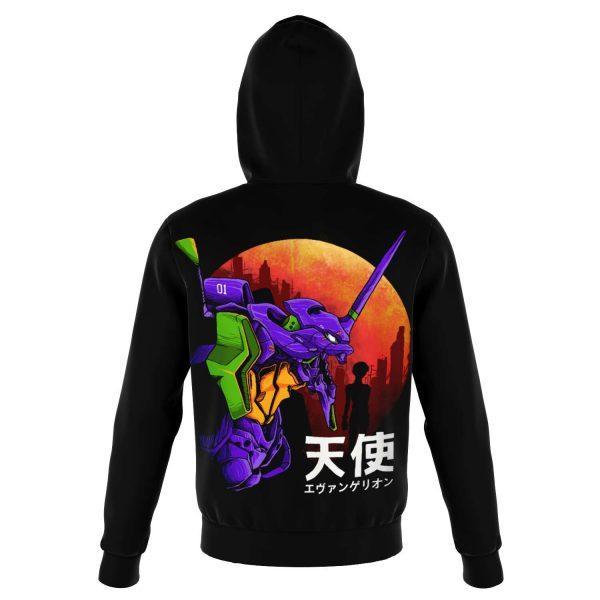 Evangelion Unit-01 Night Hoodie Official Evangelion Merch