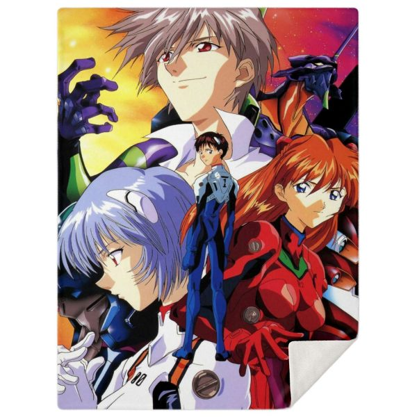 Evangelion Microfleece Blanket #17 Official Evangelion Merch