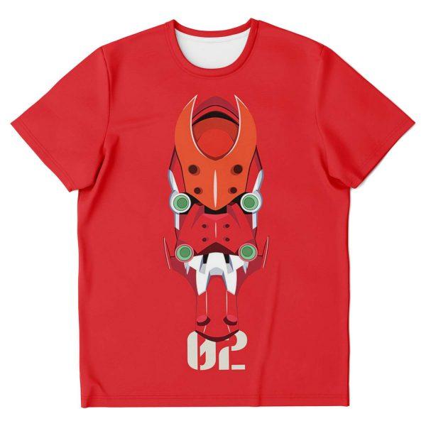 Evangelion EVA Unit-02 Classic T-shirt Official Evangelion Merch