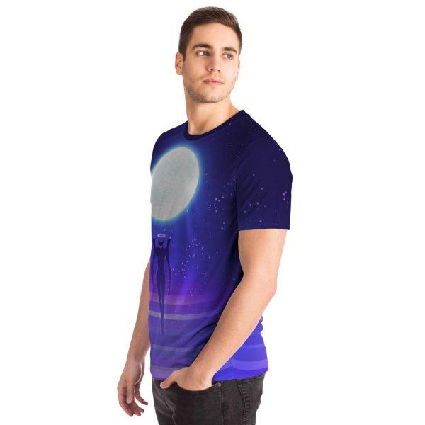 Evangelion Angel Moon Night 3D T-shirt Official Evangelion Merch