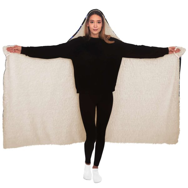 Evangelion Angel Night 3D Hooded Blanket Official Evangelion Merch