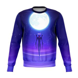 Evangelion Angel Moon Night 3D Sweatshirt Official Evangelion Merch