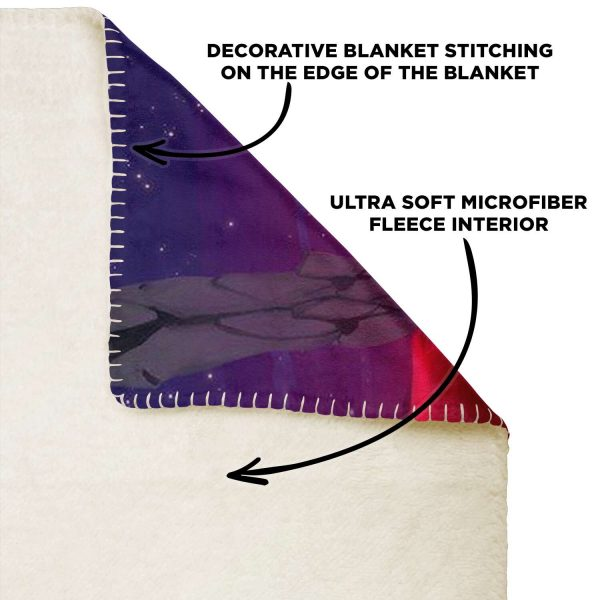 Evangelion Microfleece Blanket #02 Official Evangelion Merch