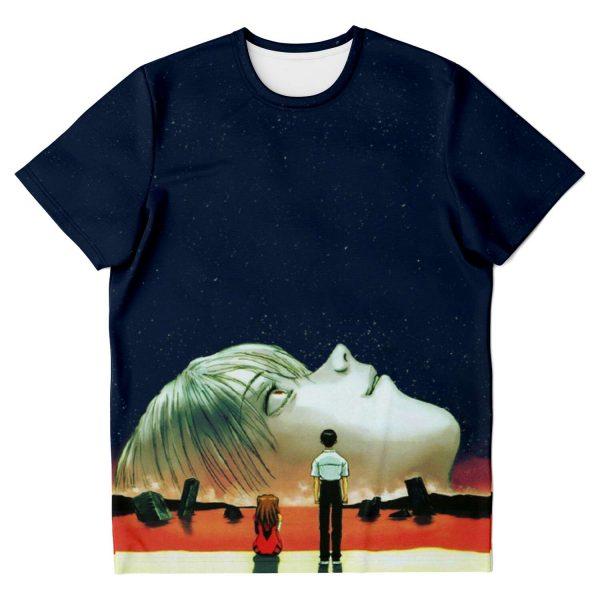 Evangelion Face Rei Ayanami T-shirt Official Evangelion Merch