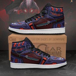 Evangelion Unit-01 Awakened Jordan Shoes Official Evangelion Merch