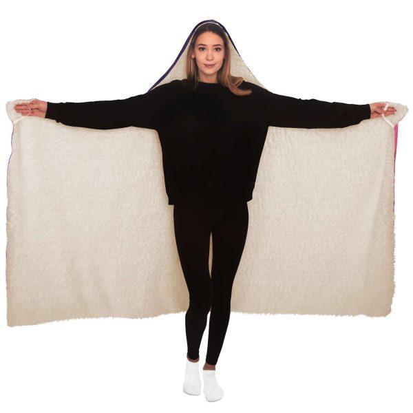 Evangelion EVA 01 Test Hooded Blanket Official Evangelion Merch