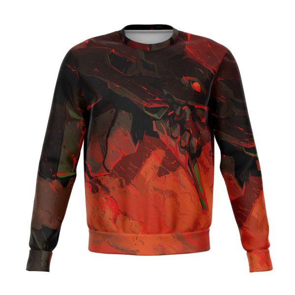 Evangelion Red Black 3D Sweatshirt Official Evangelion Merch