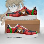 Evangelion Asuka Langley Shikinami Air Force Sneakers Official Evangelion Merch