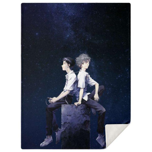 Evangelion Microfleece Blanket #05 Official Evangelion Merch
