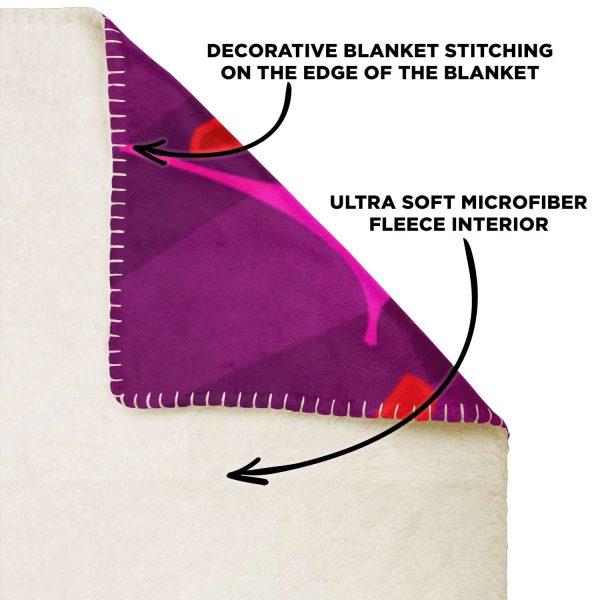 Evangelion Microfleece Blanket #14 Official Evangelion Merch