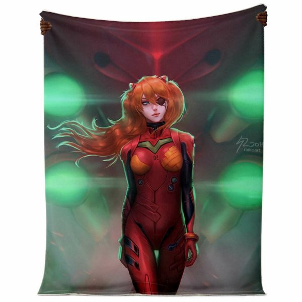 Evangelion Microfleece Blanket #01 Official Evangelion Merch