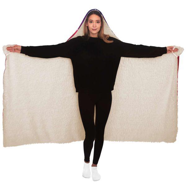 Evangelion Asuka Hentai Hooded Blanket Official Evangelion Merch