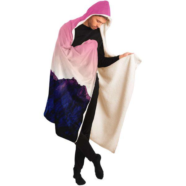 Evangelion EVA 01 Japan Hooded Blanket Official Evangelion Merch