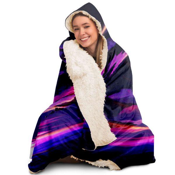 Evangelion Angel Sky Hooded Blanket Official Evangelion Merch