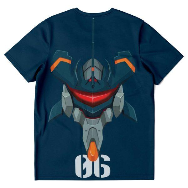Evangelion Unit-06 Classic T-shirt Official Evangelion Merch