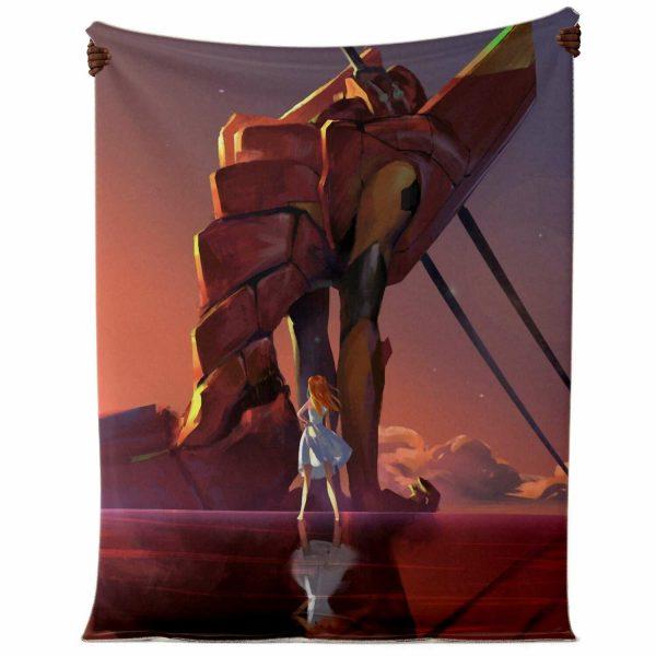 Evangelion Microfleece Blanket #04 Official Evangelion Merch