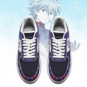 Evangelion Kaworu Nagisa Air Force Sneakers Official Evangelion Merch