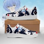Evangelion Rei Ayanami Air Force Sneakers Official Evangelion Merch