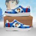 Evangelion Shinji Ikari Air Force Sneakers Official Evangelion Merch