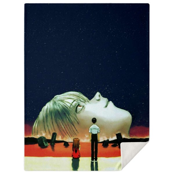 Evangelion Microfleece Blanket #06 Official Evangelion Merch