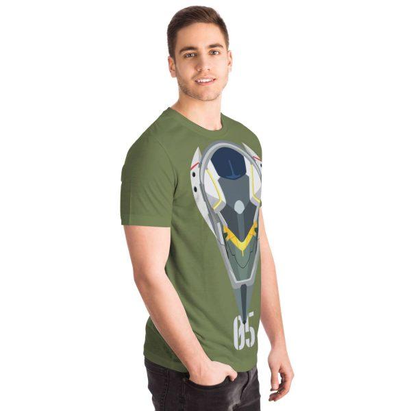 Evangelion Unit-05 Classic T-shirt Official Evangelion Merch