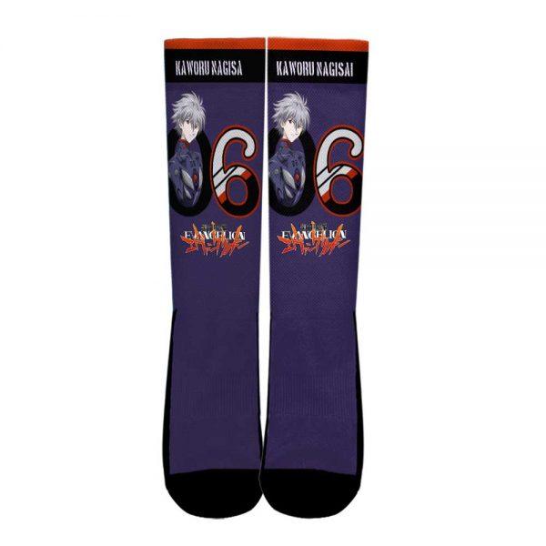 Neon Genesis Evangelion Kaworu Nagisa Socks Official Evangelion Merch