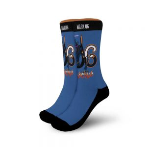 Neon Genesis Evangelion Mark 06 Socks Official Evangelion Merch