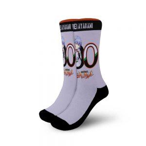 Neon Genesis Evangelion Rei Ayanami Socks Official Evangelion Merch