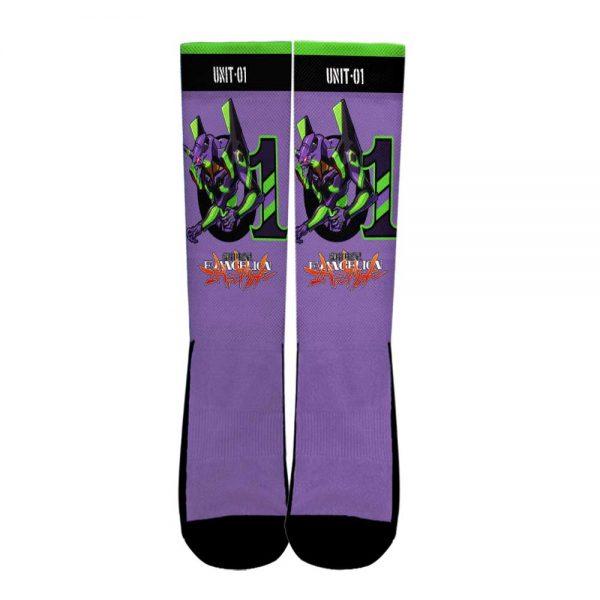 Neon Genesis Evangelion Unit-01 Socks Official Evangelion Merch