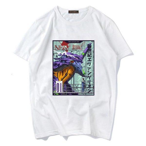 EVA Unit-01 T-shirt Style No.2 Official Evangelion Merch