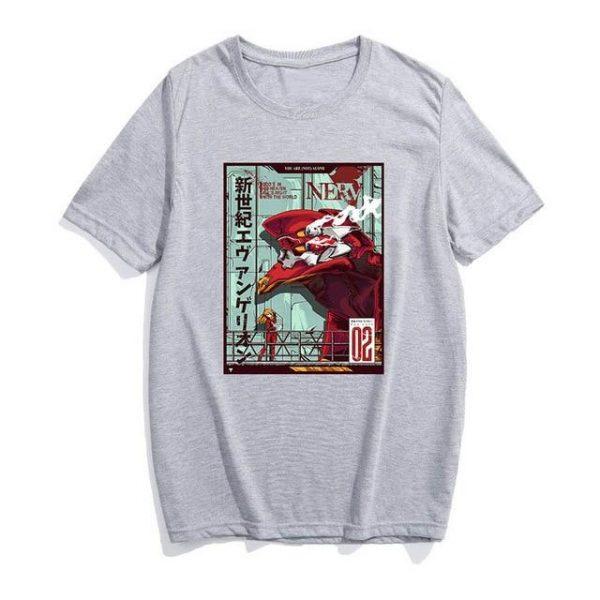 EVA Unit-02 T-shirt Style No.2 Official Evangelion Merch