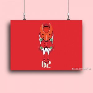 Anime New Evangelion Pictures Wall Art Official Evangelion Merch
