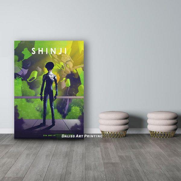 Evangelion Shinji Wall Art Official Evangelion Merch