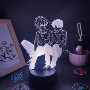 Evangelion Kaworu Nagisa & Shinji Ikari Figure RGB LED Official Evangelion Merch