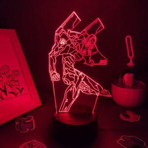 New Evangelions Figure RGB LED Official Evangelion Merch
