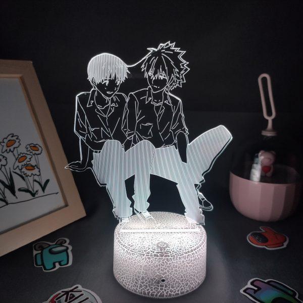 Evangelion Kaworu Nagisa & Shinji Ikari Figure RGB LED Official Evangelion Merch