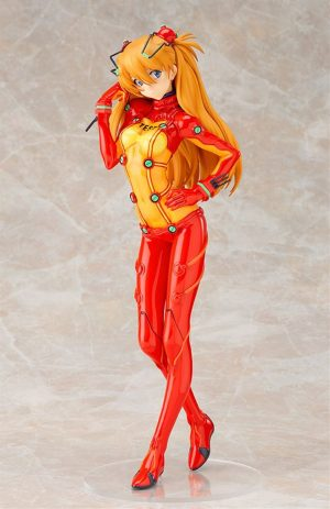 27.5cm Original Asuka Action Figure Collectible Model Toys Official Evangelion Merch