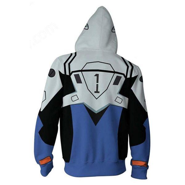 Evangelion Unit-01 Hoodie Jacket Official Evangelion Merch