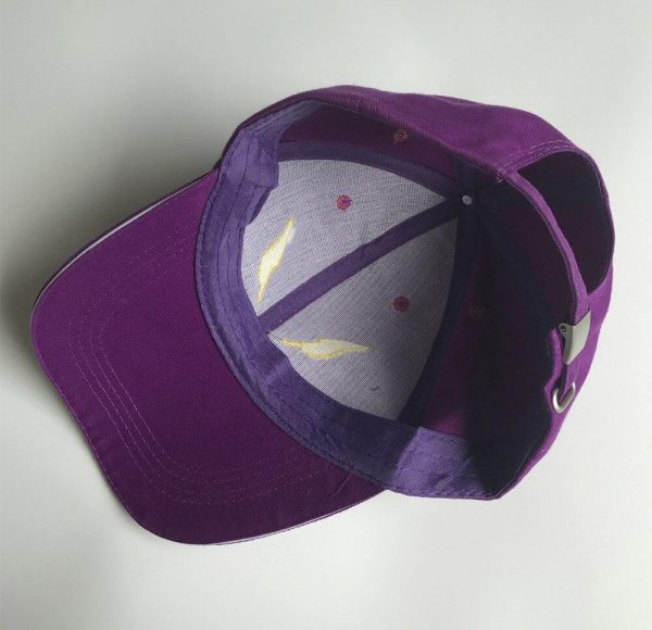 EVA Unit-01 Embroidery Baseball Cap Official Evangelion Merch