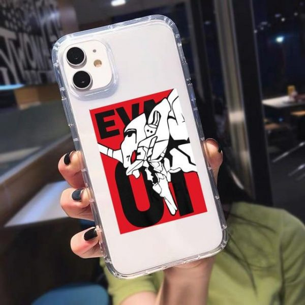 Evangelion Phone Case Soft TPU Cover Official Evangelion Merch