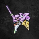 EVANGELION-01 Embroidery Patches Official Evangelion Merch