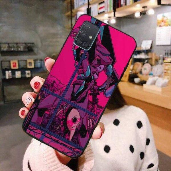 Neon Genesis Evangelion Phone Case For Samsung New Style No.2 Official Evangelion Merch