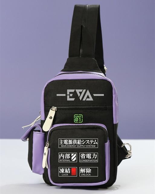 Evangelion EVA-01 Small Backpack Official Evangelion Merch