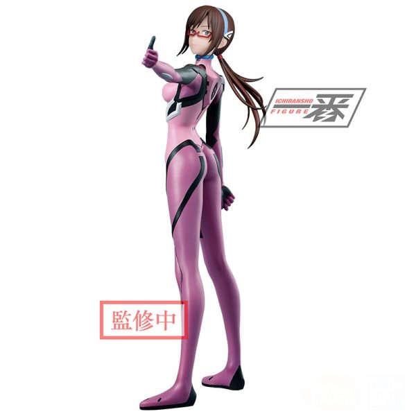 17cm BANDAI NEON GENESIS EVANGELION EVA Mari Makinami Illustrious Anime characters Action PVC Collection Model Toy - Evangelion Merch