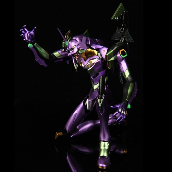 BANDAI 1 144 Metal Coloring EVA 01 HIRM Hi resolution Model Neon Genesis Evangelion Assembled Robot 3 - Evangelion Merch