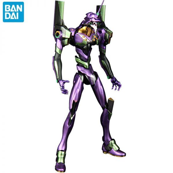BANDAI 1 144 Metal Coloring EVA 01 HIRM Hi resolution Model Neon Genesis Evangelion Assembled Robot - Evangelion Merch