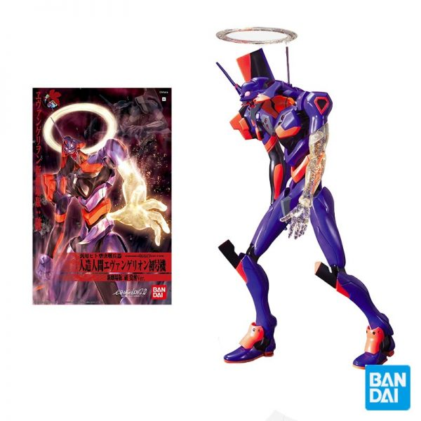 Bandai Eva Theater Edition 03 Neon Genesis Evangelion Eva Evangelion 01 Awakening Assembly Model Kids Toys - Evangelion Merch